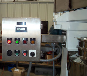 Jacketed Barrel and Control Panel